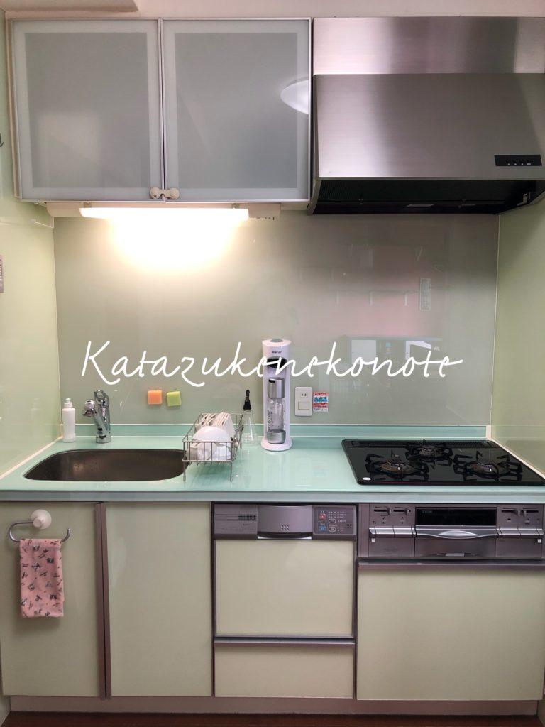 キッチン収納術~シンク下の開き扉~無印良品ポリプロピレン収納ケースを活用